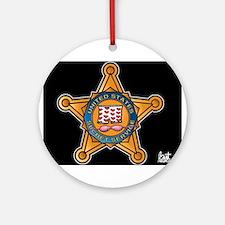 Secret Service Badge Ornament (Round)