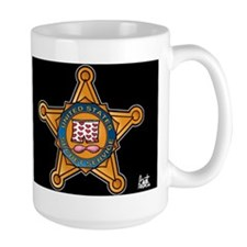 Secret Service Badge Mug