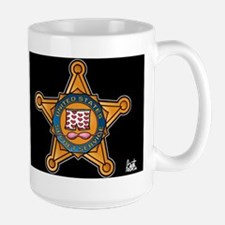 Secret Service Badge Mug