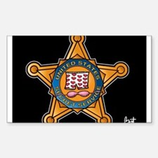 Secret Service Badge Decal