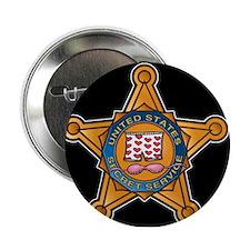 """Secret Service Badge 2.25"""" Button"""