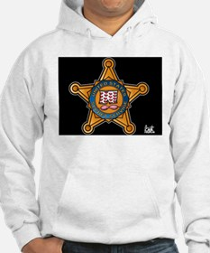 Secret Service Badge Hoodie