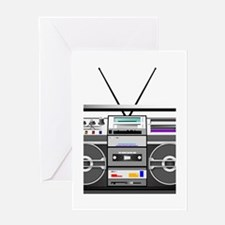 boombox1.png Greeting Card