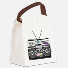 boombox1.png Canvas Lunch Bag