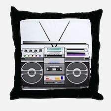 boombox1.png Throw Pillow