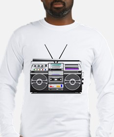 boombox1.png Long Sleeve T-Shirt