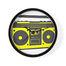 boombox2.png Wall Clock