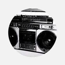 """boombox5.png 3.5"""" Button (100 pack)"""