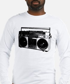 boombox5.png Long Sleeve T-Shirt