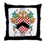 Athy Coat of Arms Throw Pillow