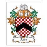 Athy Coat of Arms Small Poster