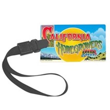 California Homegrowers Association Luggage Tag