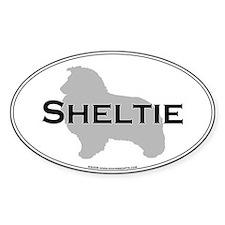 Sheltie Oval Bumper Stickers