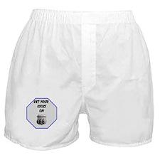 Get Your Kicks Boxer Shorts