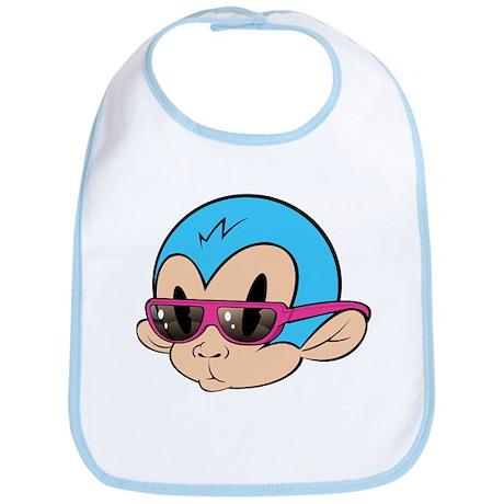 Cool Monkey Bib