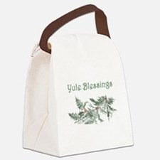Yule Blessings Canvas Lunch Bag