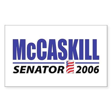 McCaskill 2006 Rectangle Sticker