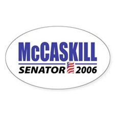 McCaskill 2006 Oval Decal