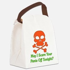 scarepants01.png Canvas Lunch Bag