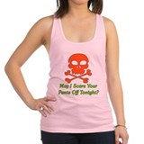 Adult halloween Womens Racerback Tanktop