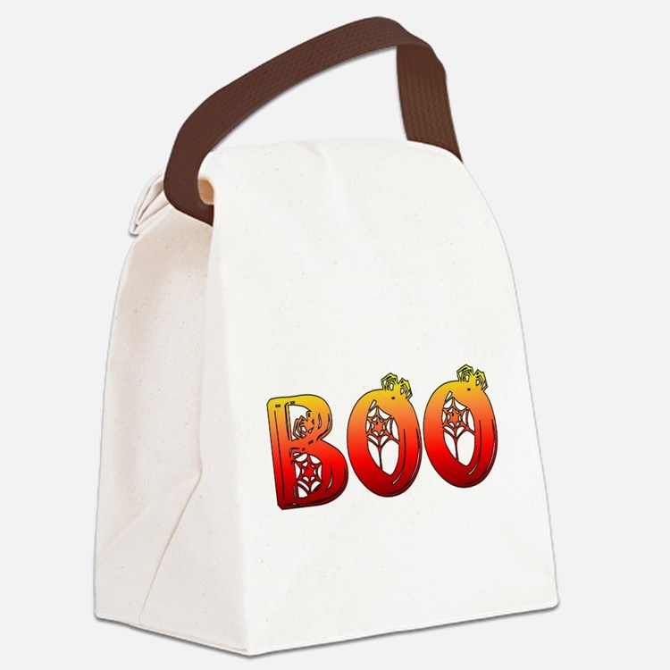 boo01.png Canvas Lunch Bag