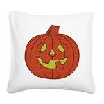 pumpkin01a.png Square Canvas Pillow