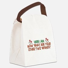 hereiam01.png Canvas Lunch Bag