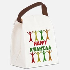 happy_kwanzaa01.png Canvas Lunch Bag