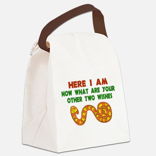 hereiam_kwanzaa01.png Canvas Lunch Bag