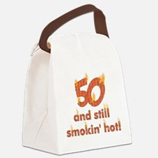 50th_birthday01.png Canvas Lunch Bag
