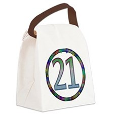 21st_birthday02.png Canvas Lunch Bag
