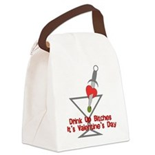 anti_valentine_bitches01.png Canvas Lunch Bag