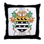 Ardagh Coat of Arms Throw Pillow