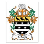 Ardagh Coat of Arms Small Poster