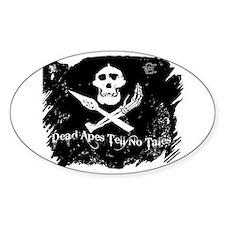 Vanilla Gorilla ink pirate flag Decal
