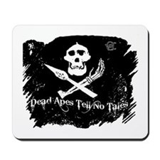 Vanilla Gorilla ink pirate flag Mousepad
