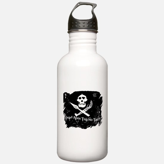 Vanilla Gorilla ink pirate flag Water Bottle