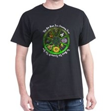 Turning of the Year Black T-Shirt