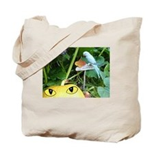 Happy Halloween Parrot and Pumpkin Tote Bag