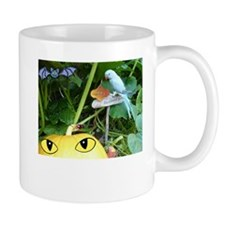 Happy Halloween Parrot and Pumpkin Mug