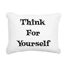 think01a.png Rectangular Canvas Pillow