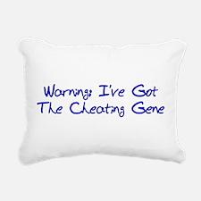 cheating_gene01.png Rectangular Canvas Pillow
