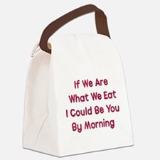 eat_me01a.png Canvas Lunch Bag