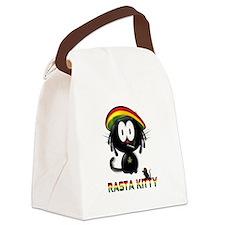 rasta kitty Canvas Lunch Bag
