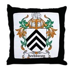 Archdecon Coat of Arms Throw Pillow