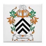 Archdecon Coat of Arms Tile Coaster