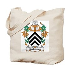 Archdecon Coat of Arms Tote Bag