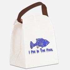 fish_pee01.png Canvas Lunch Bag