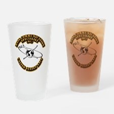 Navy - Rate - MC Drinking Glass