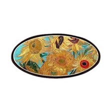 Van Gogh - Sunflowers Patches